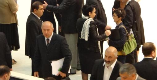 პაატა ზაქარეიშვილმა მინისტრის რანგში პირველი ოფიციალური შეხვედრები გამართა