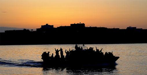 ხმელთაშუა ზღვაში მიგრანტებით სავსე გემი ჩაიძირა