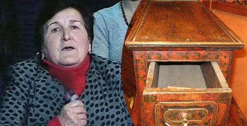 ქალბატონ ჟენიას _ ვანო მერაბიშვილის დედას ანტიკვარული მაგიდა აჩუქეს!