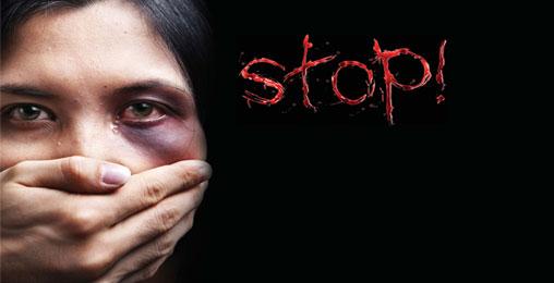 არა - ქალებზე ძალადობას!