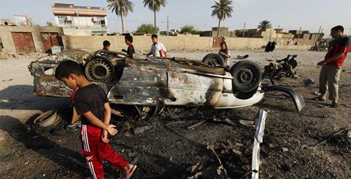 ერაყში აფეთქებას 40-მდე ადამიანი ემსხვერპლა