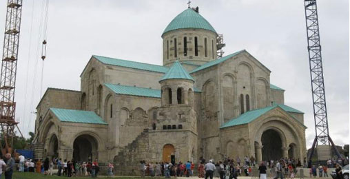 ბაგრატის ტაძარს ისტორიული სახე უბრუნდება
