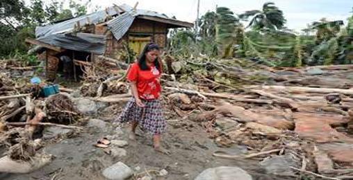 ფილიპინებში ტაიფუნს 400-ზე  მეტი ადამიანი ემსხვერპლა