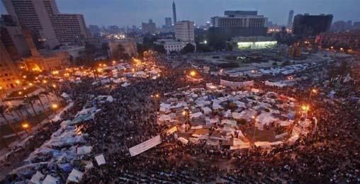 ეგვიპტეში ისევ აქციებია
