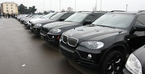 შსს ძვირადღირებულ მანქანებს აუქციონზე გაყიდის