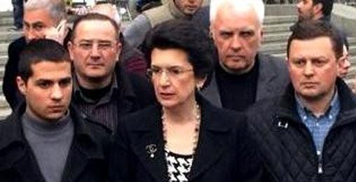 """ნინო ბურჯანაძე: -""""ხელისუფლებამ გააცოცხლა """"ნაციონალური მოძრაობა"""""""