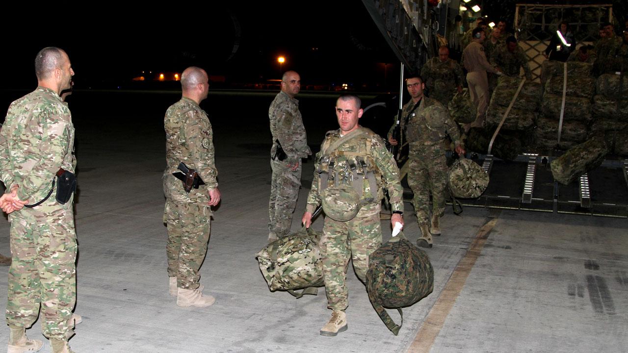 23-ე ბატალიონი ავღანეთში ISAF -ის მისიის შესასრულებლად ჩავიდა