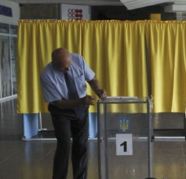 უკრაინაში პრეზიდენტის არჩევნები დაიწყო