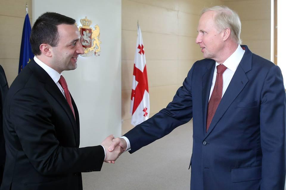 ირაკლი ღარიბაშვილი BP Group- ის აღმასრულებელ დირექტორს შეხვდა