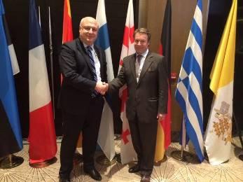 გიგი წერეთელი ეუთოს საპარლამენტო ასამბლეის EPP-ის ფრაქციის თავმჯდომარედ აირჩიეს