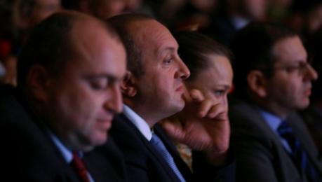 საქართველოს პრეზიდენტი საერთაშორისო მუსიკალური ფესტივალის დასკვნით კოცერტს დაესწრო