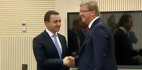 საქართველოს პრემიერ-მინისტრი შტეფან ფულეს შეხვდა