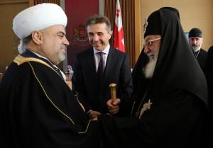 საქართველოში ორდღიანი ვიზიტით ამიერკავკასიის მუსლიმთა საბჭოს თავმჯდომარე იმყოფება