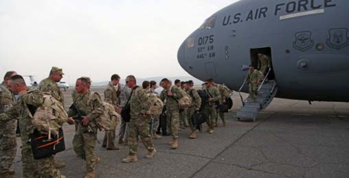 ავღანეთიდან ქართველი სამხედრო მოსამსახურეების მორიგი ნაკადი დაბრუნდა