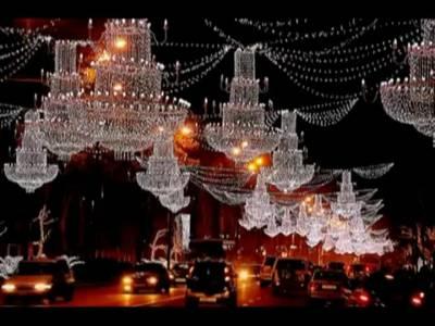 ახალი წელი და დღესასწაულები დედაქალაქში