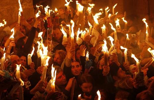 მაცხოვრის საფლავზე ზეციური ცეცხლი დღეს გადმოვა