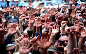 რუისის მოსახლეობა ავტობანის გადაკეტვით იმუქრება