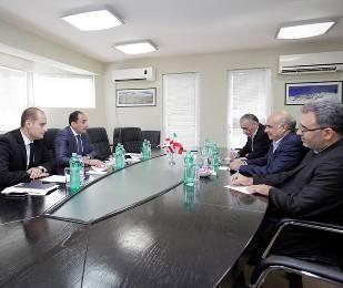 დიმიტრი ქუმსიშვილი ირანის ისლამური რესპუბლიკის საგანგებო  ელჩს შეხვდა