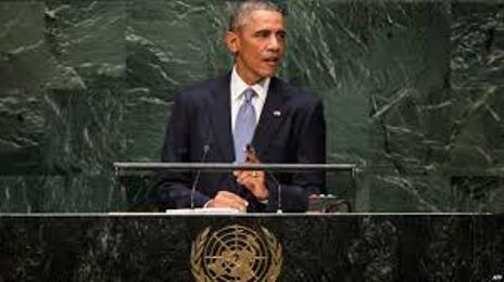 ბარაკ ობამა:თუკი ამის აუცილებლობა დადგება, აშშ დაუყოვნებლივ გამოიყენებს თავის შეიარაღებულ ძალებს ცალმხრივ რეჟიმში