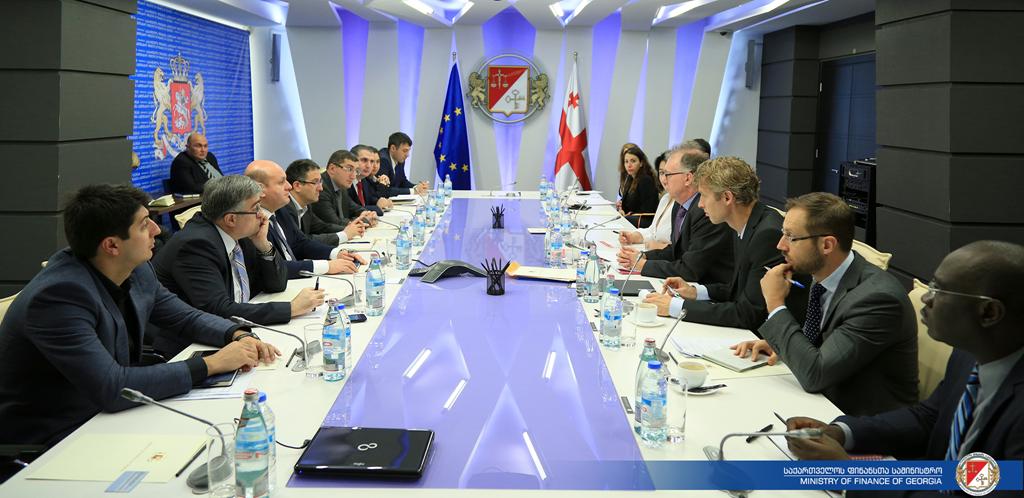 ფინანსთა მინისტრმა ევროკავშირის ეკონომიკისა და ფინანსურ საკითხებში გენერალური დირექტორატის წარმომადგენლებთან შეხვედრა გამართა