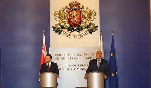 რა განაცხადეს საქართველოსა და ბულგარეთის რესპუბლიკის პრემიერ-მინისტრებმა?
