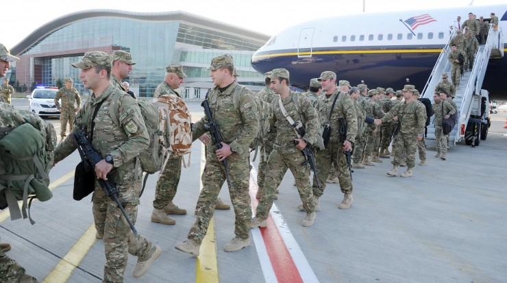 """32-ე ბატალიონის """"ბრავო"""" """"მარმალზე"""" სამშვიდობო მისიის შესასრულებლად უკვე ავღანეთშია"""